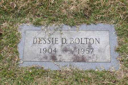BOLTON, DESSIE D. - Garland County, Arkansas | DESSIE D. BOLTON - Arkansas Gravestone Photos