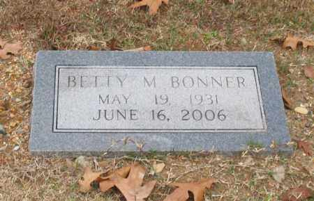 BONNER, BETTY M. - Garland County, Arkansas | BETTY M. BONNER - Arkansas Gravestone Photos