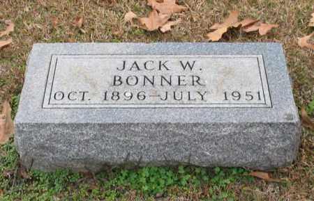 BONNER, JACK W. - Garland County, Arkansas | JACK W. BONNER - Arkansas Gravestone Photos