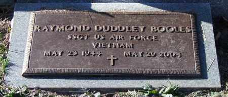 BOOLES (VETERAN VIET), RAYMOND DUDDLEY - Garland County, Arkansas | RAYMOND DUDDLEY BOOLES (VETERAN VIET) - Arkansas Gravestone Photos