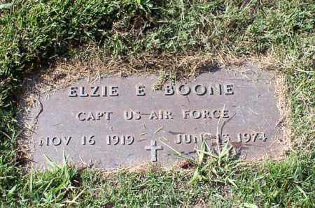 BOONE (VETERAN WWII), ELZIE E - Garland County, Arkansas | ELZIE E BOONE (VETERAN WWII) - Arkansas Gravestone Photos