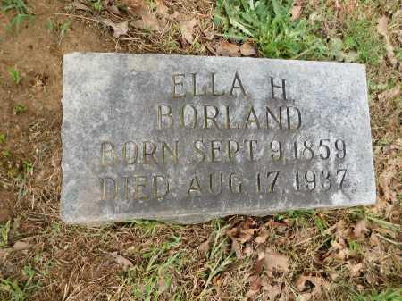BORLAND, ELLA H. - Garland County, Arkansas | ELLA H. BORLAND - Arkansas Gravestone Photos