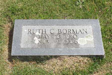 BORMAN, RUTH C. - Garland County, Arkansas | RUTH C. BORMAN - Arkansas Gravestone Photos