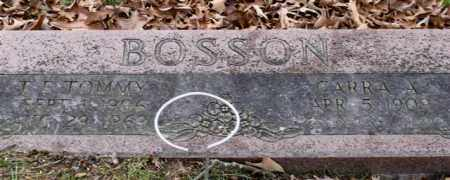BOSSON, CARRA A. - Garland County, Arkansas | CARRA A. BOSSON - Arkansas Gravestone Photos