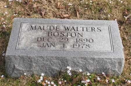 WALTERS BOSTON, MAUDE - Garland County, Arkansas | MAUDE WALTERS BOSTON - Arkansas Gravestone Photos