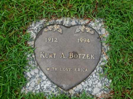BOTZEK, KURT A. - Garland County, Arkansas | KURT A. BOTZEK - Arkansas Gravestone Photos