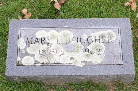 BOUCHER, MARY L. - Garland County, Arkansas | MARY L. BOUCHER - Arkansas Gravestone Photos