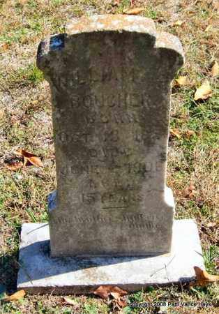 BOUCHER, WILLIAM R. - Garland County, Arkansas | WILLIAM R. BOUCHER - Arkansas Gravestone Photos