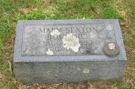 SEXTON BOUCHIER, MARY - Garland County, Arkansas | MARY SEXTON BOUCHIER - Arkansas Gravestone Photos