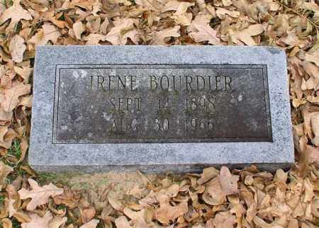 BOURDIER, IRENE - Garland County, Arkansas | IRENE BOURDIER - Arkansas Gravestone Photos