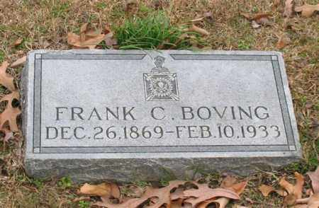 BOVING, FRANK C. - Garland County, Arkansas | FRANK C. BOVING - Arkansas Gravestone Photos