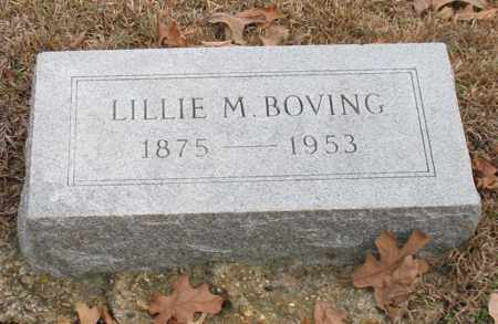 BOVING, LILLIE M. - Garland County, Arkansas | LILLIE M. BOVING - Arkansas Gravestone Photos