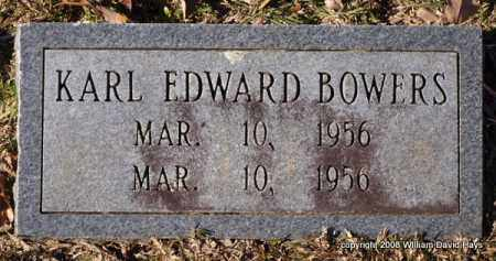BOWERS, KARL EDWARD - Garland County, Arkansas | KARL EDWARD BOWERS - Arkansas Gravestone Photos