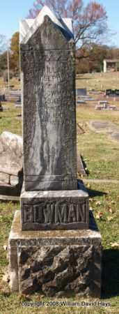 BOWMAN, EMMARILLA JOSEPHINE - Garland County, Arkansas | EMMARILLA JOSEPHINE BOWMAN - Arkansas Gravestone Photos