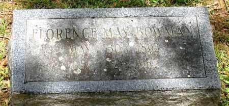 BOWMAN, FLORENCE MAY - Garland County, Arkansas   FLORENCE MAY BOWMAN - Arkansas Gravestone Photos