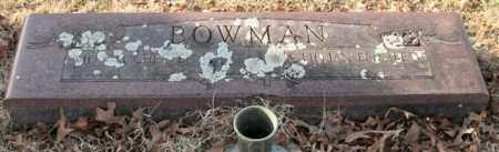 MILES BOWMAN, RACHEL L. - Garland County, Arkansas | RACHEL L. MILES BOWMAN - Arkansas Gravestone Photos