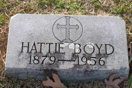 BOYD, HATTIE - Garland County, Arkansas | HATTIE BOYD - Arkansas Gravestone Photos