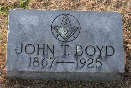 BOYD, JOHN T. - Garland County, Arkansas | JOHN T. BOYD - Arkansas Gravestone Photos