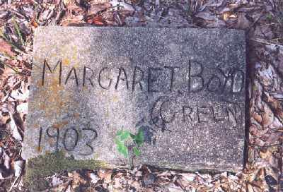 GREEN BOYD, MARGARET - Garland County, Arkansas | MARGARET GREEN BOYD - Arkansas Gravestone Photos
