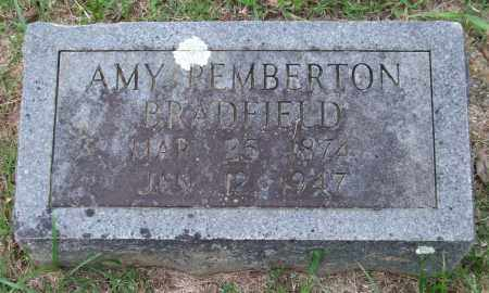 PEMBERTON BRADFIELD, AMY - Garland County, Arkansas | AMY PEMBERTON BRADFIELD - Arkansas Gravestone Photos