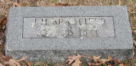 BRADFIELD, J. H. - Garland County, Arkansas | J. H. BRADFIELD - Arkansas Gravestone Photos