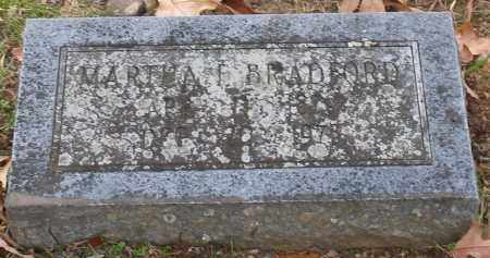 BRADFORD, MARTHA E. - Garland County, Arkansas | MARTHA E. BRADFORD - Arkansas Gravestone Photos