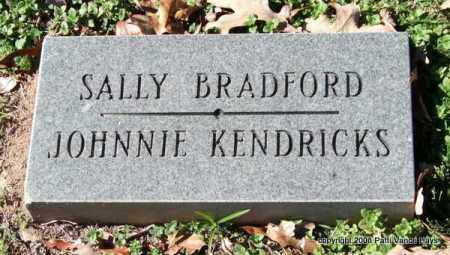 BRADFORD, SALLY - Garland County, Arkansas | SALLY BRADFORD - Arkansas Gravestone Photos