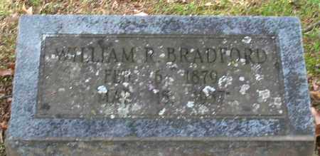 BRADFORD, WILLIAM R. - Garland County, Arkansas | WILLIAM R. BRADFORD - Arkansas Gravestone Photos