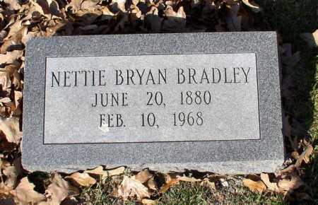 BRADLEY, NETTIE - Garland County, Arkansas   NETTIE BRADLEY - Arkansas Gravestone Photos