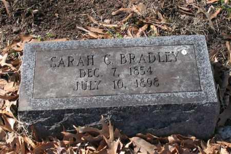 BRADLEY, SARAH C. - Garland County, Arkansas | SARAH C. BRADLEY - Arkansas Gravestone Photos