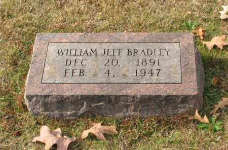 BRADLEY, WILLIAM JEFF - Garland County, Arkansas | WILLIAM JEFF BRADLEY - Arkansas Gravestone Photos