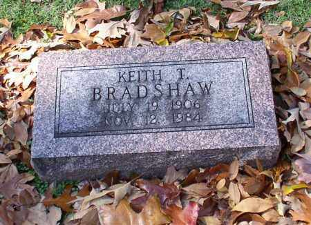 BRADSHAW, KEITH T. - Garland County, Arkansas | KEITH T. BRADSHAW - Arkansas Gravestone Photos