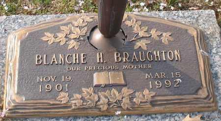 BRAUGHTON, BLANCHE H. - Garland County, Arkansas | BLANCHE H. BRAUGHTON - Arkansas Gravestone Photos