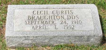 BRAUGHTON, CECIL CURTIS - Garland County, Arkansas | CECIL CURTIS BRAUGHTON - Arkansas Gravestone Photos