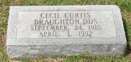 BRAUGHTON, CECIL CURTIS - Garland County, Arkansas | CECIL CURTIS BRAUGHTON - Arkansas Gravestone Photos