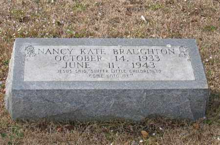 BRAUGHTON, NANCY KATE - Garland County, Arkansas | NANCY KATE BRAUGHTON - Arkansas Gravestone Photos