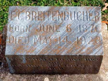 BREITENBUCHER, E. C. - Garland County, Arkansas | E. C. BREITENBUCHER - Arkansas Gravestone Photos