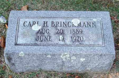 BRINCKMANN, CARL H. - Garland County, Arkansas | CARL H. BRINCKMANN - Arkansas Gravestone Photos