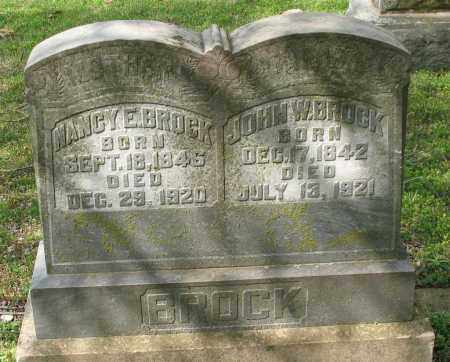 BROCK, NANCY E. - Garland County, Arkansas | NANCY E. BROCK - Arkansas Gravestone Photos