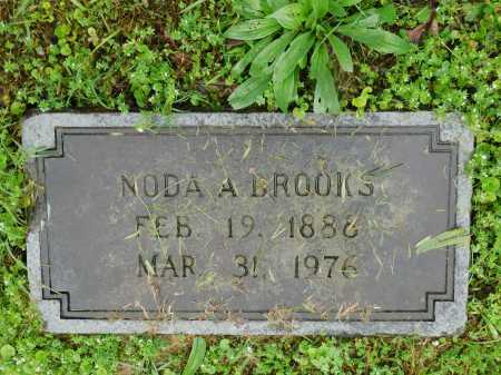 BROOKS, NODA A. - Garland County, Arkansas | NODA A. BROOKS - Arkansas Gravestone Photos