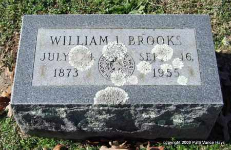 BROOKS, WILLIAM L. - Garland County, Arkansas | WILLIAM L. BROOKS - Arkansas Gravestone Photos