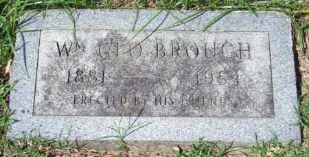 BROUGH, WILLIAM GEORGE - Garland County, Arkansas | WILLIAM GEORGE BROUGH - Arkansas Gravestone Photos