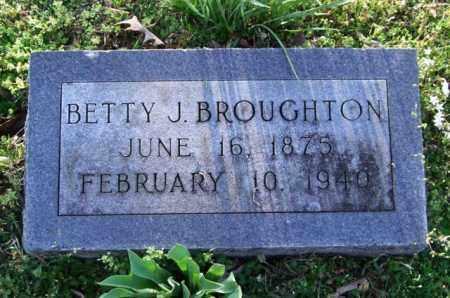 BROUGHTON, BETTY J. - Garland County, Arkansas | BETTY J. BROUGHTON - Arkansas Gravestone Photos