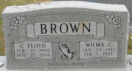 BROWN, C. FLOYD - Garland County, Arkansas | C. FLOYD BROWN - Arkansas Gravestone Photos