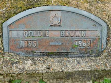 BROWN, GOLDIE - Garland County, Arkansas | GOLDIE BROWN - Arkansas Gravestone Photos