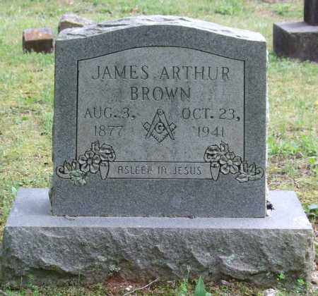 BROWN, JAMES ARTHUR - Garland County, Arkansas | JAMES ARTHUR BROWN - Arkansas Gravestone Photos
