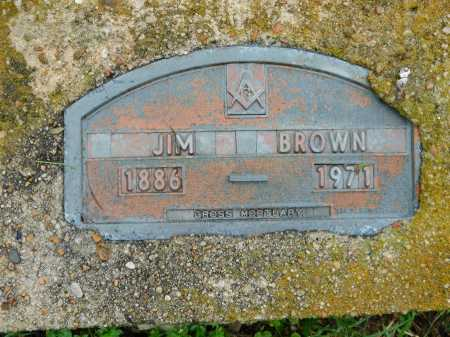 BROWN, JIM - Garland County, Arkansas | JIM BROWN - Arkansas Gravestone Photos