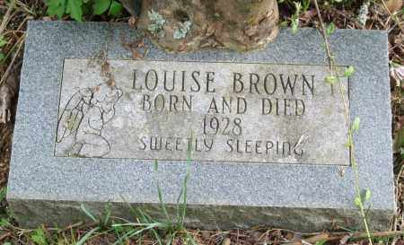 BROWN, LOUISE - Garland County, Arkansas | LOUISE BROWN - Arkansas Gravestone Photos