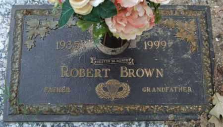 BROWN, ROBERT - Garland County, Arkansas | ROBERT BROWN - Arkansas Gravestone Photos