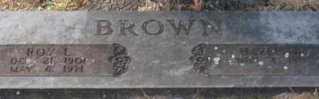 BROWN, ROY L. - Garland County, Arkansas | ROY L. BROWN - Arkansas Gravestone Photos